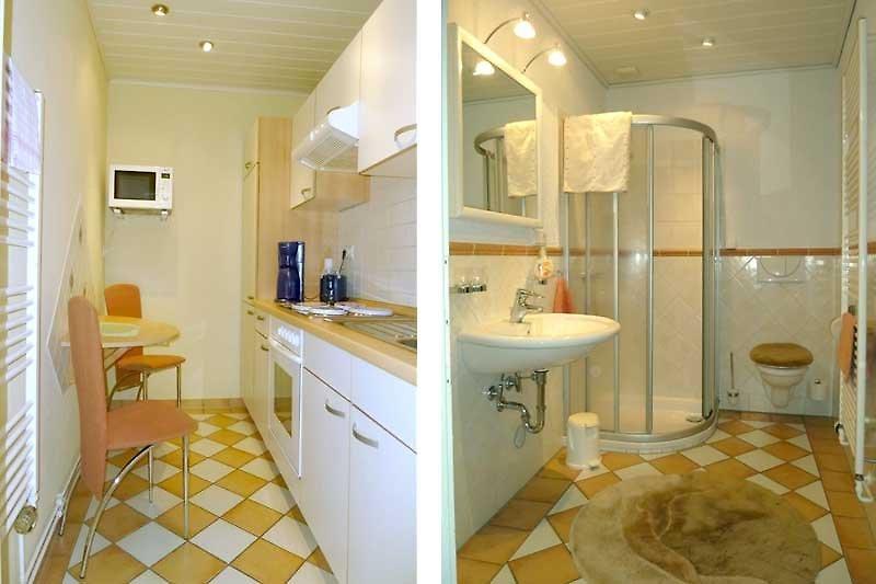 Küche / Duschbad