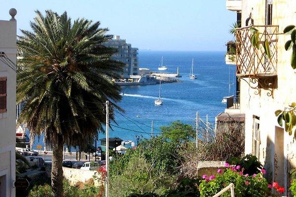Sea View Ap. mit Sprachkurs  in St Julians - Bild 1