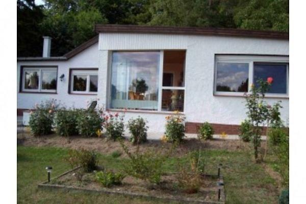 Ansicht des Hauses von der Gartenseite