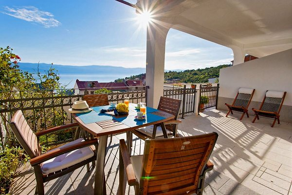 Anamarija 2 nuovo appartamento con vista sul mare in Vrbnik - immagine 1