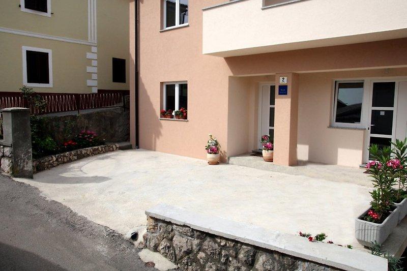 Ferienwohnung Ivana in Vrbnik auf der Insel Krk