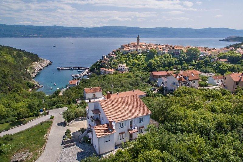 Ferienwohnung Katica in Vrbnik auf der Inesl Krk