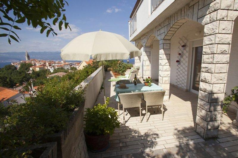Ferienwohnung Marino 2 in Vrbnik auf der Insel Krk