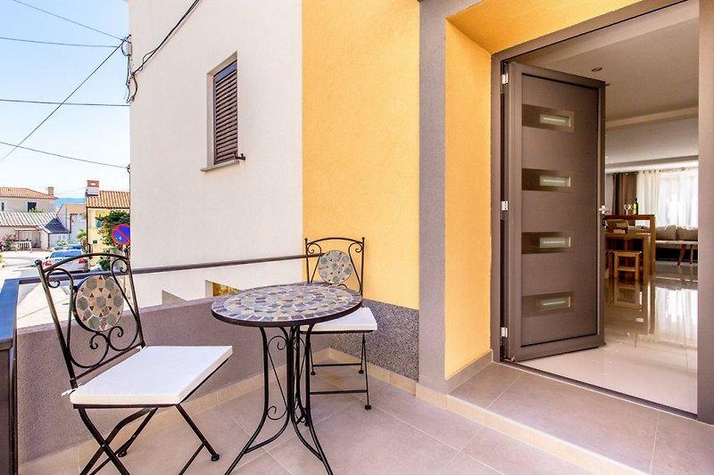 Apartment Vesna 1 in Vrbnik auf der Insel Krk