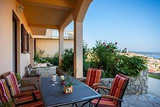 Appartement Lidija, avec vue sur la mer, AC