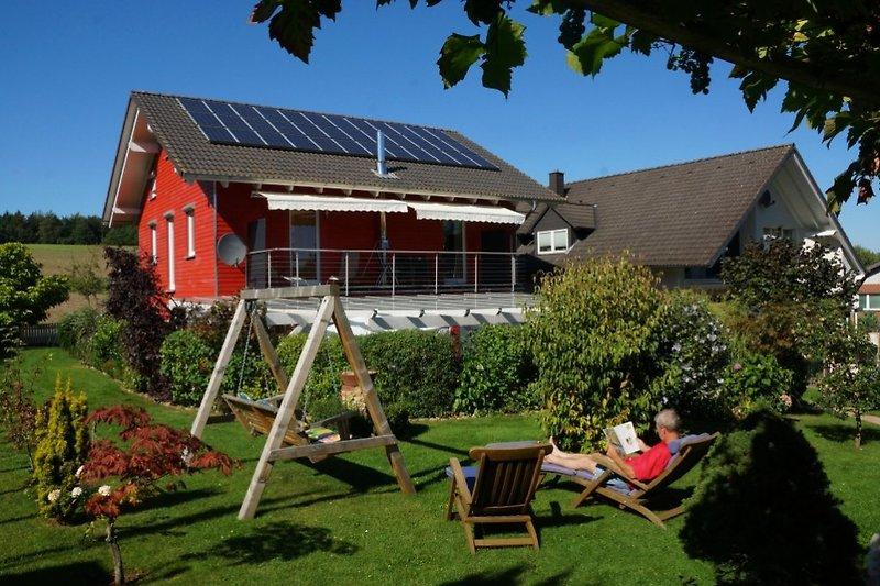 Schwedenhaus mit Garten