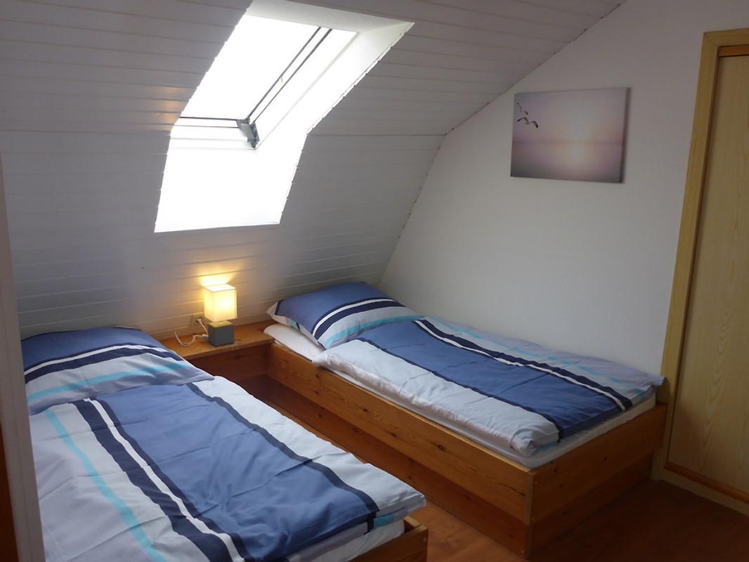 Ferienhaus mara ferienhaus in burhave mieten - Panoramabild schlafzimmer ...