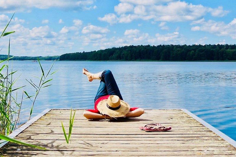 Wasser, Wald und viel Ruhe