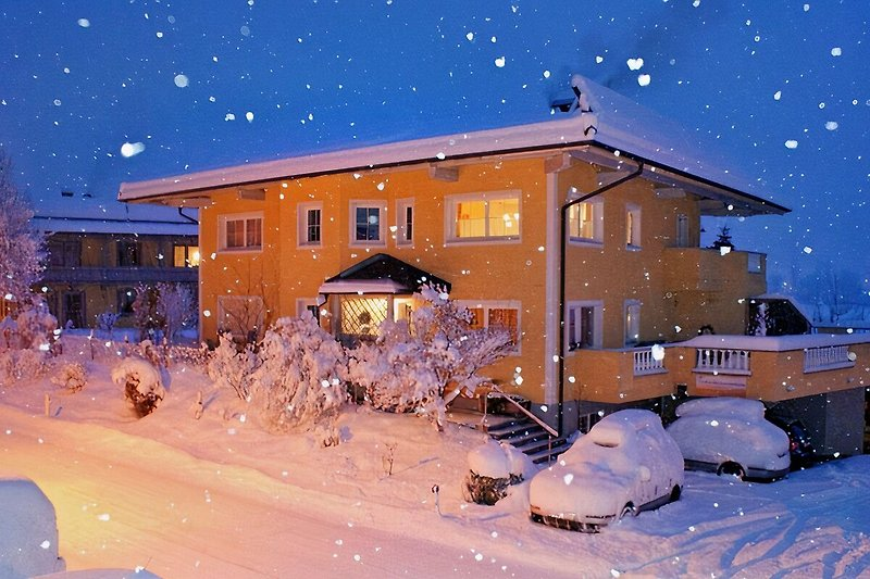 Traum-Ferienwohnung im Winter, aufgenommen am 01.01.2015