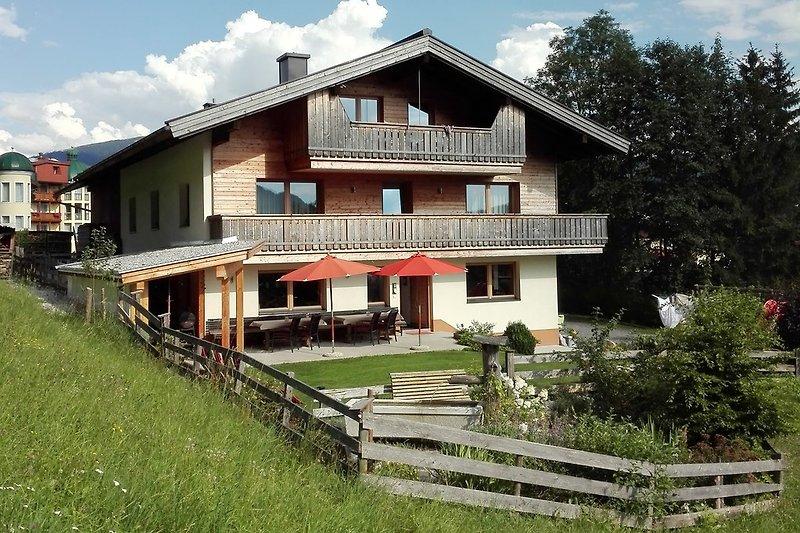 Ferienhaus Sonnhof im Sommer