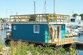 Casa su barca in Neustadt in Holstein
