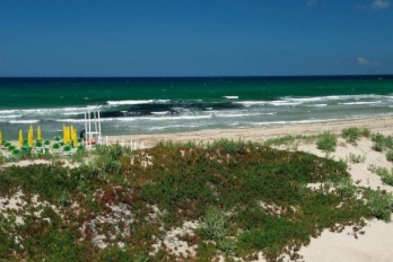 Sandy beach far 400m