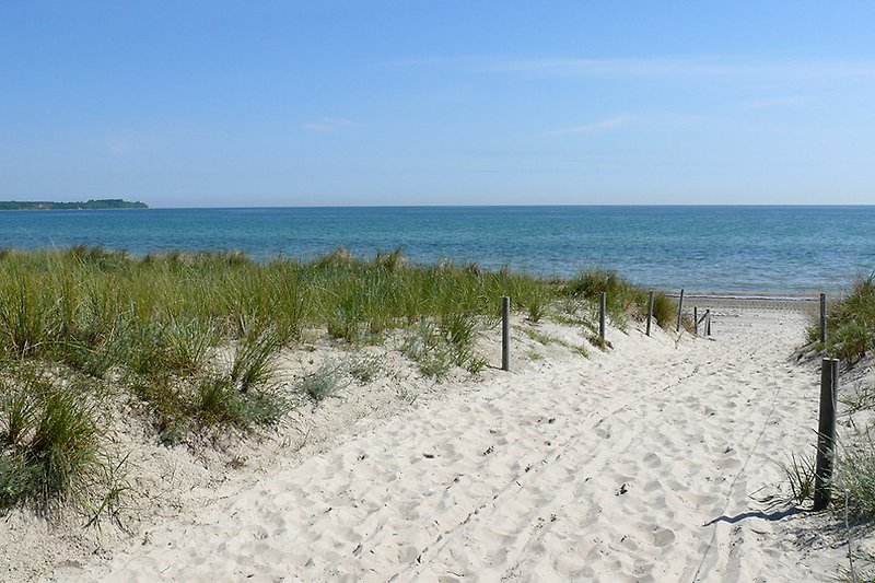 Nur 7 min Fußweg zu diesem Strand !