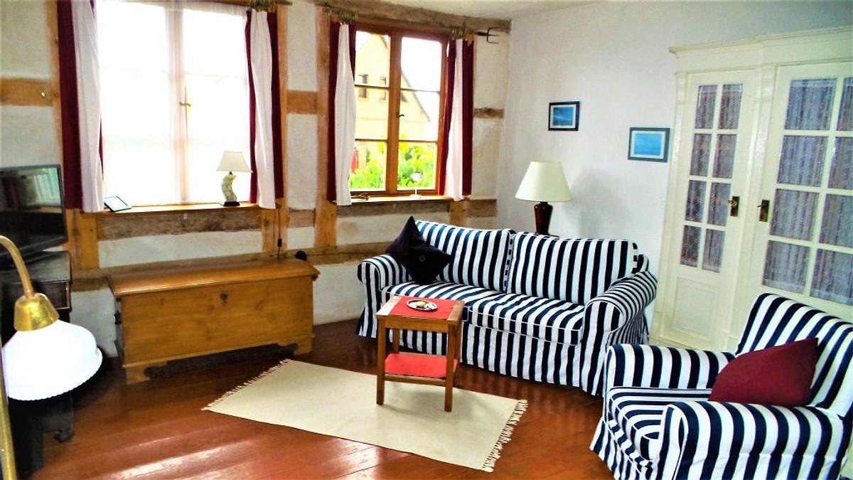 Fischerhaus godewind 60 qm ferienwohnung in altwarp mieten for Wohnzimmer 60 qm