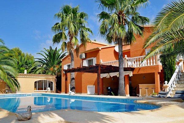 Pool Villa a 800 metros de la playa de arena en Denia -  1