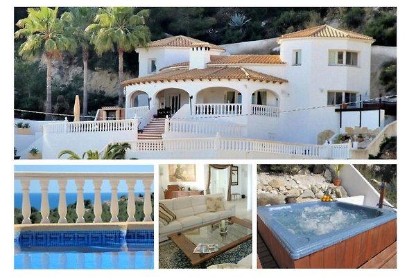 Villa avec piscine privée et jacuzzi à Moraira - Image 1