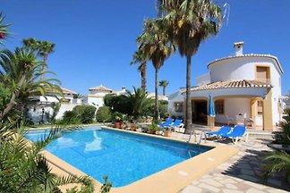 Villa en Els Poblets con piscina privada