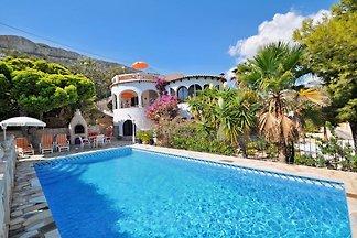 Villa con vista mare e piscina
