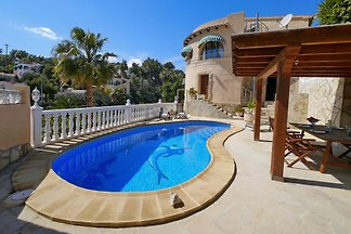 Villa mit Privatpool in Moraira