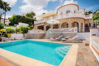 Ferienhaus mit Privatpool Moraira