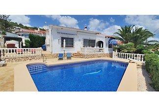 NEW: Villa heated swimming pool