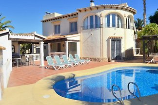 grosse Villa mit Privatpool - Javea