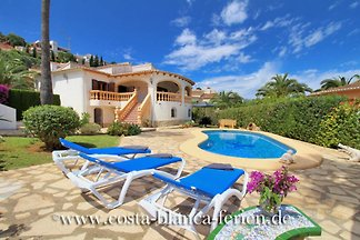 large villa in Denia with private pool