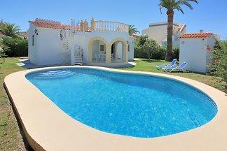 Maison en bord de mer avec piscine privée