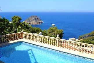 Sea view villa Javea with pool