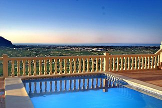 Panoramavilla für 4 oder 8 Personen