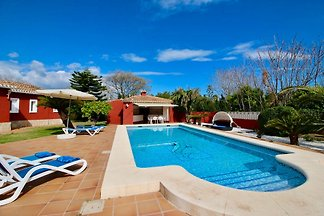 secluded finca w Denia