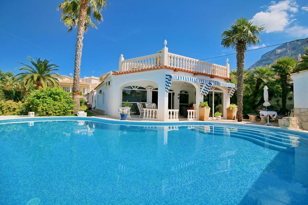 villa mit privatpool u grillk che ferienhaus in denia On casa con piscina zapallar