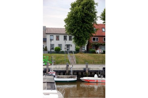 Klindthuus - direkt am Hafen