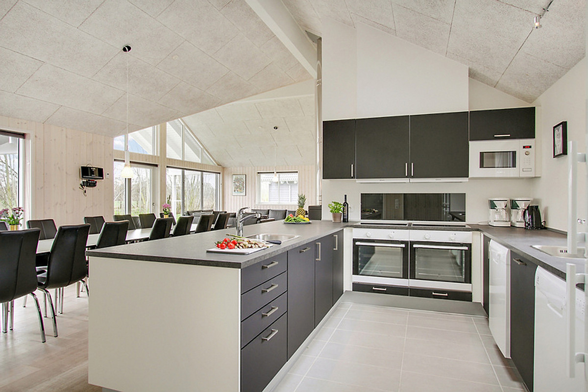 Offene Küche Im Ostsee Poolhaus