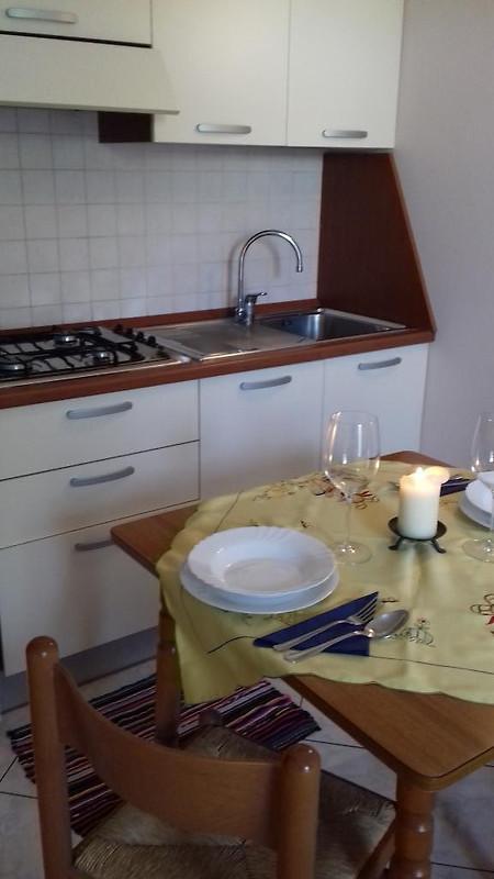 Gute Küchenzeile ~ klein aber fein direkt am strand! ferienhaus in