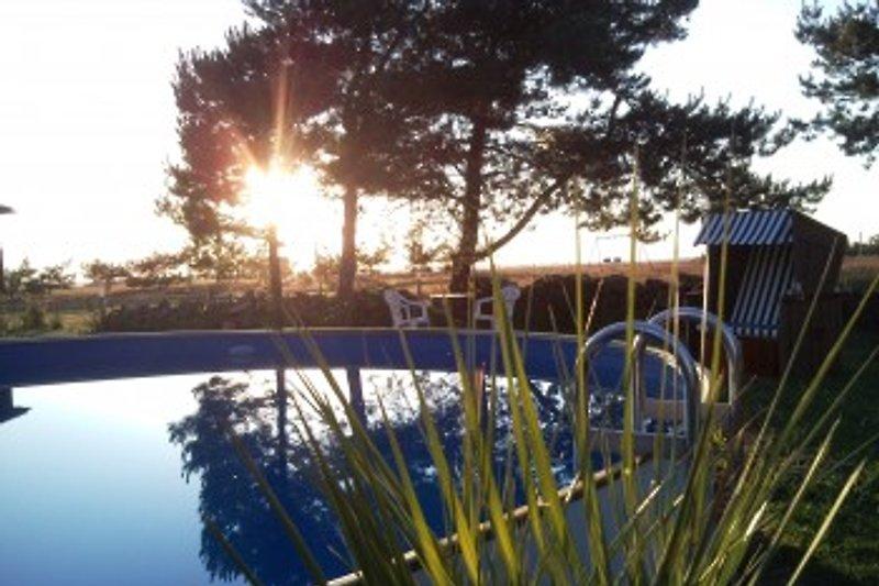 Poolbereich          (Poolgröße 7m x 1,2m)