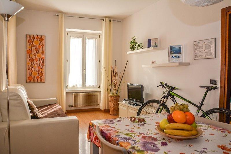 Wohnzimmer kleines Appartement