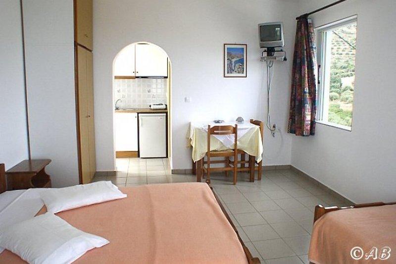 Kleine Wohnung mit Meerblick