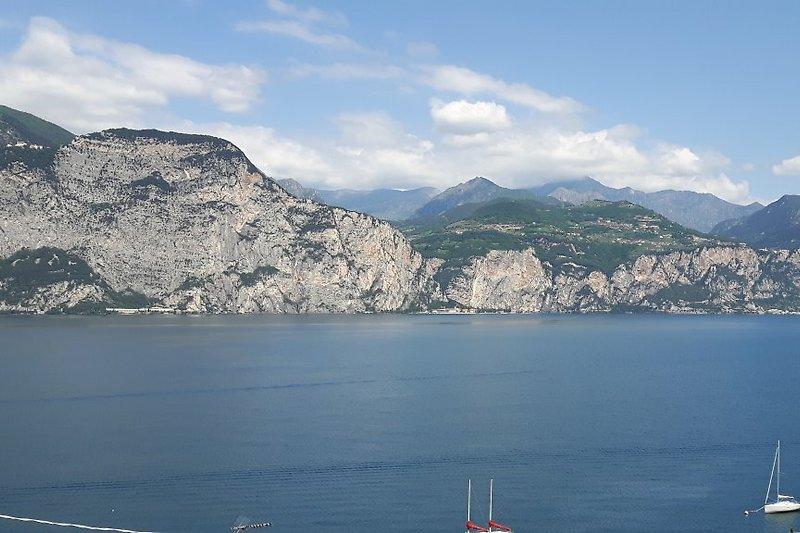 Einmaliges See- und Bergpanorama nach Norden-Westen-Süden