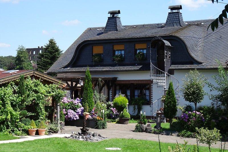 Eifel Ferienwohnung I, Eingang zur Wohnung I