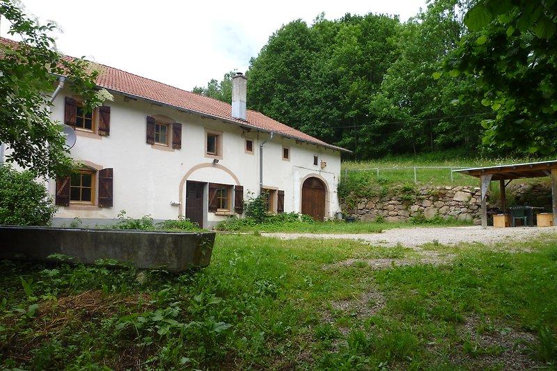 Das Ferienhaus - ein ehemaliger Bauernhof