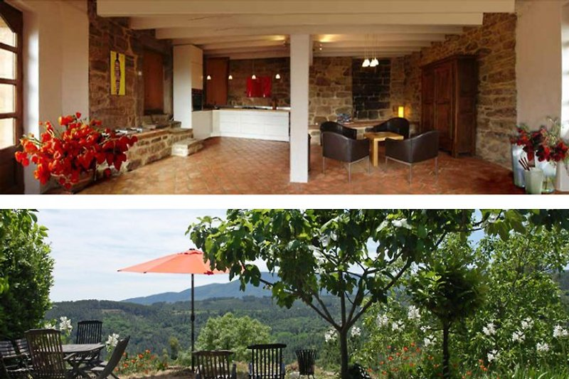 Küche / Terrasse