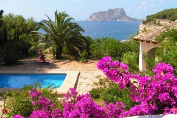 Cottage Villa Palmas y Mar en Moraira - imágen 1