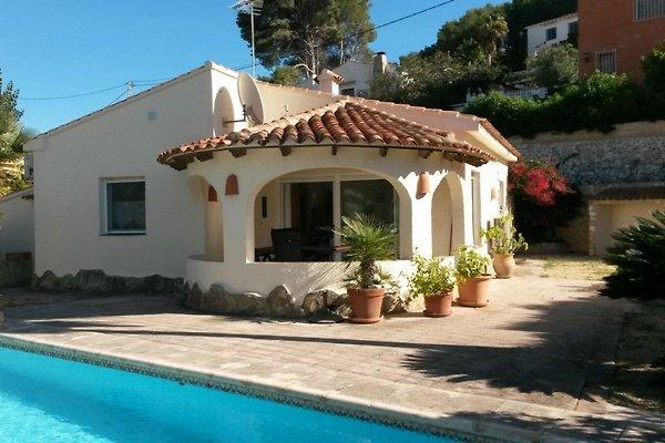Casa Catalina - vistas al mar para 6 Per en Moraira - imágen 1
