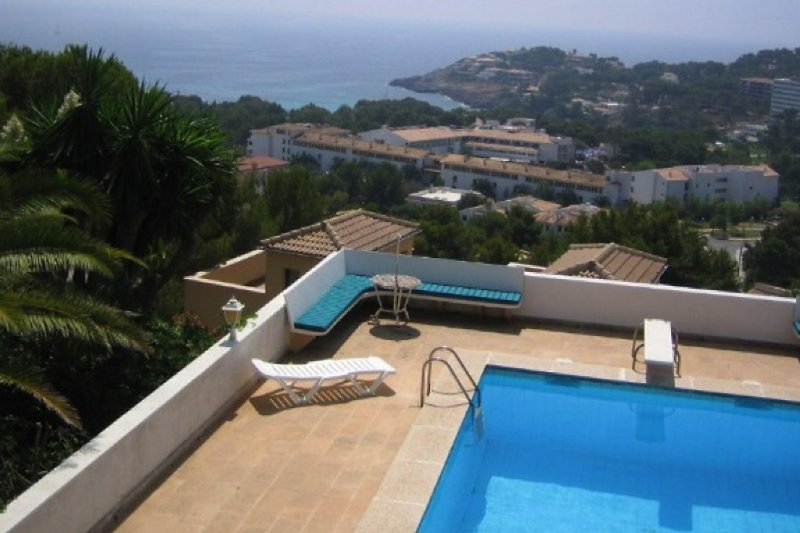 Ausblick auf die Bucht Font de Sa Cala