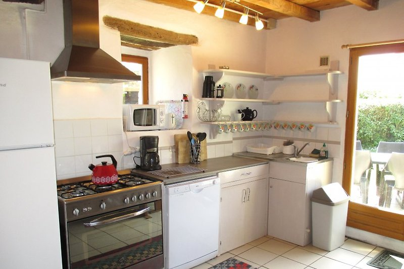 Die Küche hat alles, was Sie brauchen