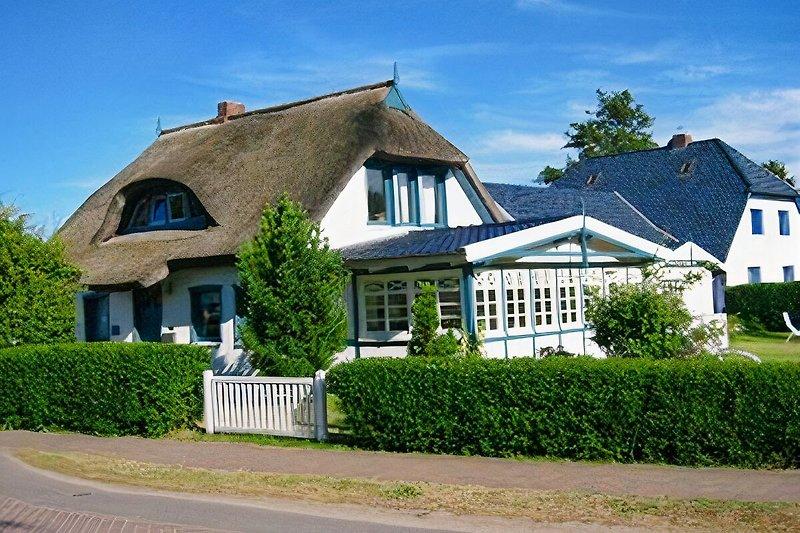 Aussenanschicht Ferienhaus Gabi