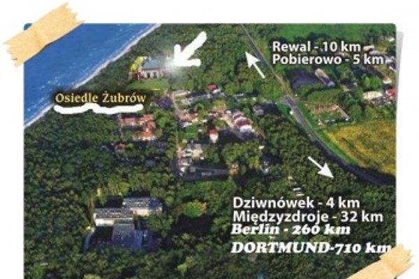 Ferienhaus an der Ostsee en Łukęcin -  1