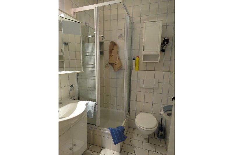 Dusche / WC, mit Fön Fewo 7
