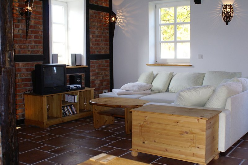 Wohnbereich mit TV-Ecke